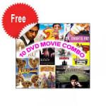 10 DVD Movie Combo