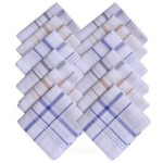 Cotton Stripe Handkerchiefs