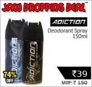 Addiction Deodorant Spray