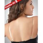 College Girl Clear Transparent Bra Straps