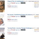 Books By A.P.J. Abdul Kalam