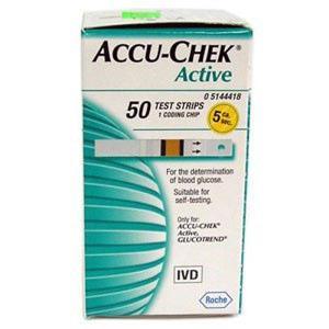 Accu-Chek Active Test Strip Box (50 Strips)