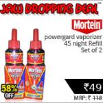 Mortein Power Gard Vaporizer 45 Night Refill