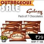 Galaxy Smooth Milk Chocolates