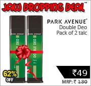 Park Avenue Double Deo Talc